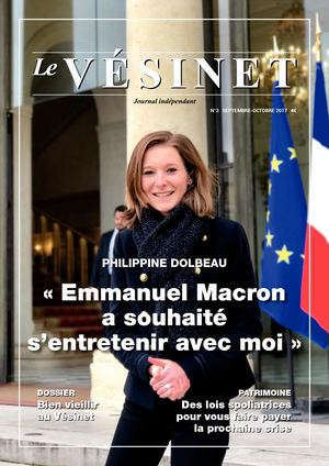 Le Journal du Vésinet n°3 - septembre-octobre 2017