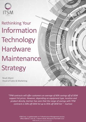 Ebook Rethinking Your It Hm Strategy 31 July 2017 V1