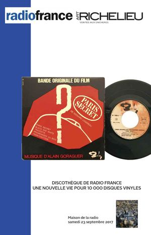 Catalogue Radio France 2017 Vinyles