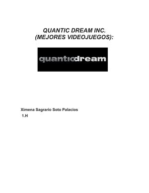Quantic Dream Inc