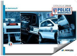 Catalogue MERCURA - Police Municipale 2018