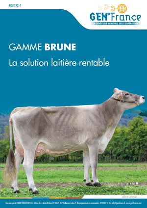 Gamme Brune - Genfrance - Aout 2017