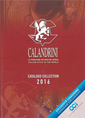 Catalogue Calandrini