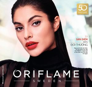 Catalogue My Pham Oriflame 10-2017