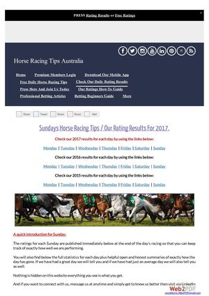 Sundays September 24th Horse Racing Tips Today's Results