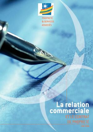 Relation Commerciale