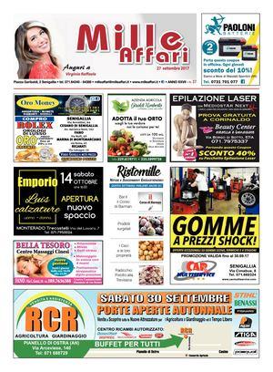 Milleaffari N°37 Del 27.09.17