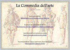 http paularbear free fr commedia dell arte