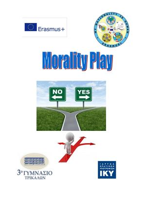 Morality Play Greek Results