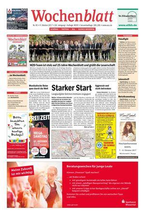 Wochenblatt oberes wiesental