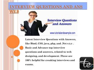 Calaméo - Interview Questions And Answers