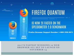 2017's Fastest Firefox Quantum Browser Support Number| 1-800-358-0071