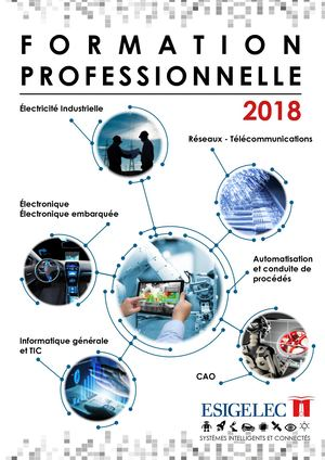 Catalogue Formation Professionnelle 2018