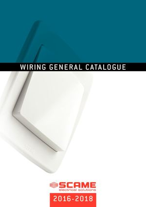 Scame General Catalogue Wiring