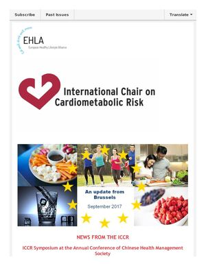 EHLA Newsletter-An Update From Brussels September 2017