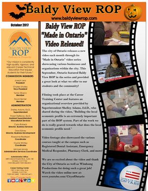 October 2017 Baldy View ROP Newsletter