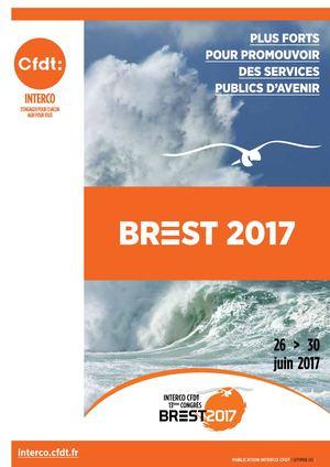 Rapport final du XIIIe Congrès de la fédération Interco CFDT - Brest 2017 41c76d4fe1b4