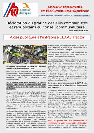 Tract Renault Claas Tractor