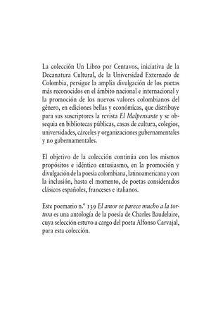 Calaméo El Amor Se Parece Mucho A La Tortura Charles