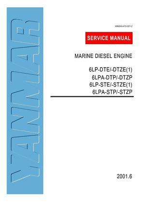 calam o yanmar 6lp ste marine diesel engine service repair manual rh calameo com Small Diesel Engines Small Diesel Engines