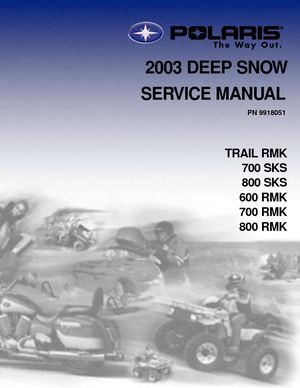 calam o 2003 polaris 800 rmk 151 snowmobile service repair manual rh calameo com 2001 Polaris Snowmobile Polaris Snowmobile Illustration
