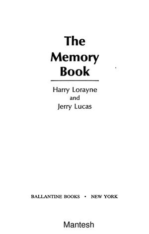 Calamo The Memory Book The Classic Guide To Improving Your Memory