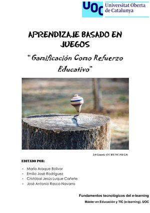 Calaméo - Wiki Libro (Aprendizaje basado en juegos)