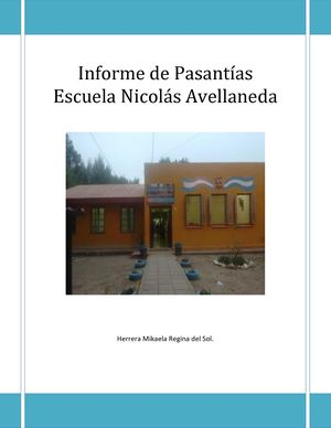 Informe De Pasantias Final
