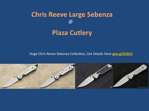 Chris Reeve Large Sebenza