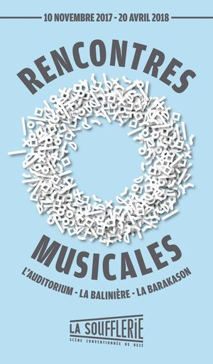 Rencontres musicales 2017/2018