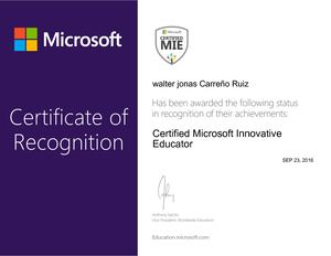 Certified Microsoft Innovative Educator - Copia