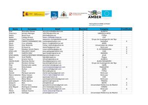 Attendance List_AMBER Launch Event Spain