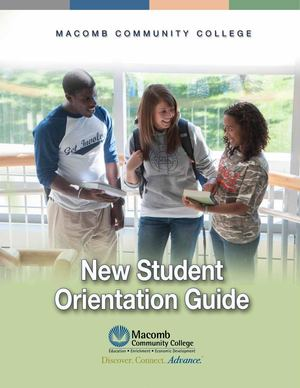New Student Orientation Guide