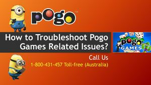 Contact 1-800431457 To Troubleshoot Pogo Games Related Issues