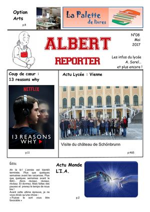 Albert Reporter 08 Journal lycéen