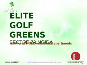 Elite Golf Greens Noida