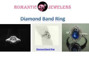 Simple Diamond Band Ring From Romantic Jewelers