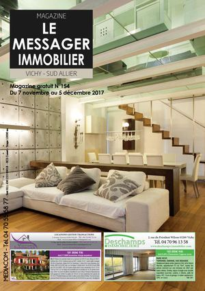LE MESSAGER IMMO N154 NOVEMBRE 2017