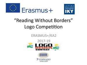 Reading Without Borders Logo Competition