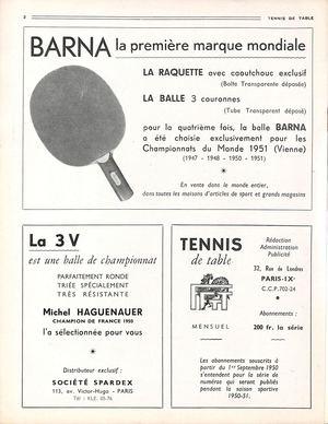 Calameo 1950 11 59 Tennis De Table