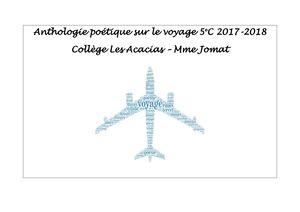 Calaméo Anthologie Poésie Voyage 5e C 2017 2018