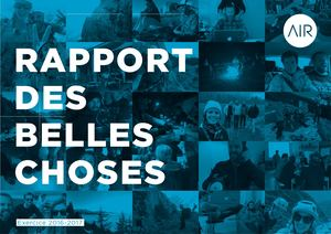 Air - Rapport des Belles Choses - 2016/2017