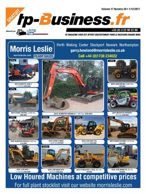 TP BUSINESS VOLUME 17 NUMÉRO 20 • 01/12/2017