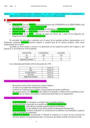 Calaméo 13460713 Temario Oposiciones Resumen Constitucion