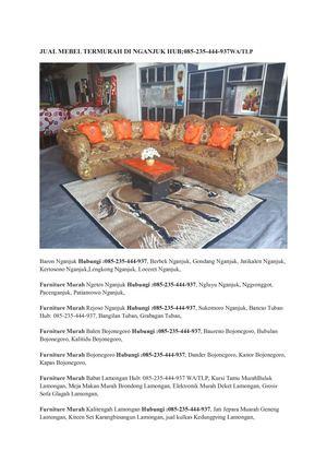 Kursi Kayu Bekas Jogja  calameo jual furniture termurah di nganjuk hub 085 235 444