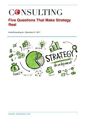 Five Questions That Make Strategy Real