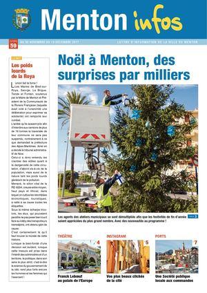 Menton Infos N°59