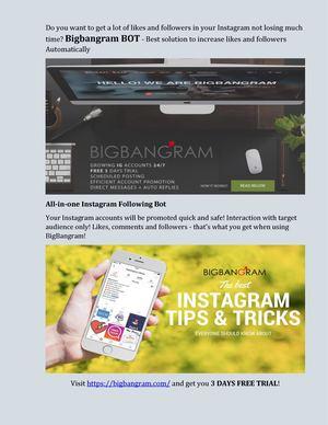 Calaméo - Bigbangram - Instagram Bot #1