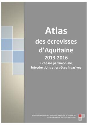Calaméo - Atlas des écrevisses d Aquitiaine 059040411c3