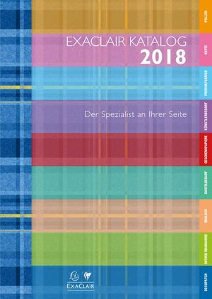 Exaclair Katalog 2018 - Clairefontaine